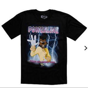 Powerline Goof Troop t-shirt Disney Hot Topic